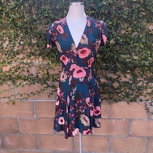 Reformation Cora Wrap Dress, S